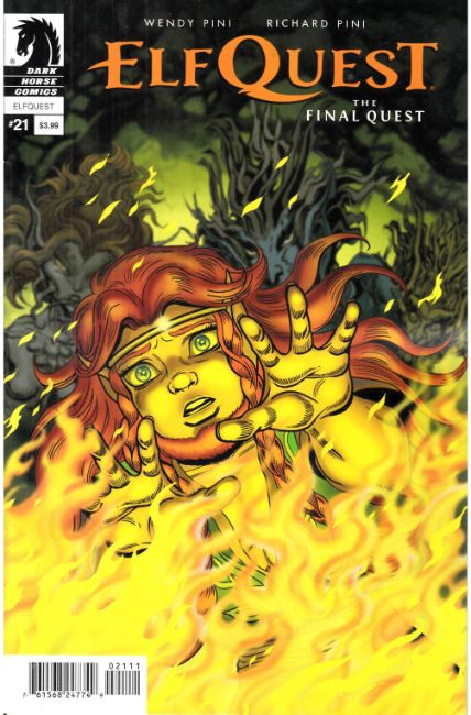 Elfquest Final Quest #21 [Dark Horse Comic]