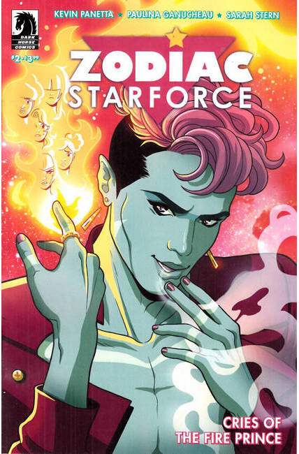 Zodiac Starforce Cries of Fire Prince #2 [Dark Horse Comic]