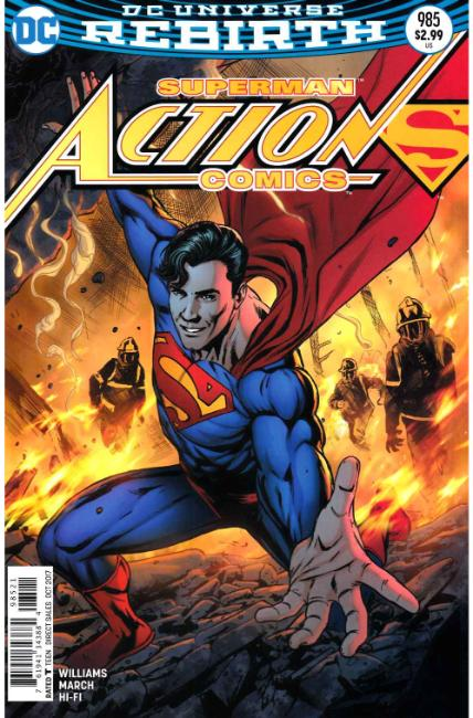 Action Comics #985 Edwards Variant Cover [DC Comic]