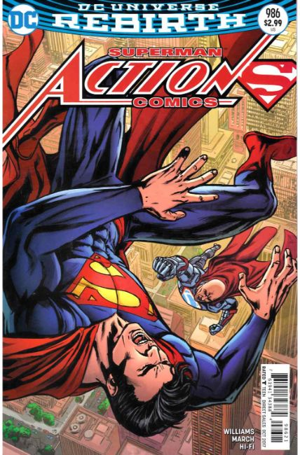 Action Comics #986 Edwards Variant Cover [DC Comic]