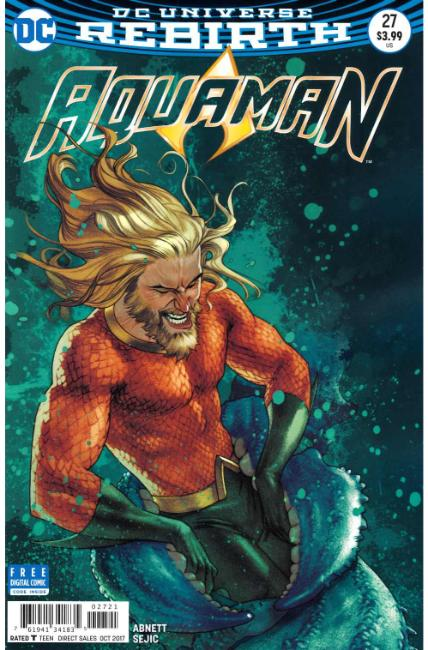 Aquaman #27 Middleton Variant Cover [DC Comic]