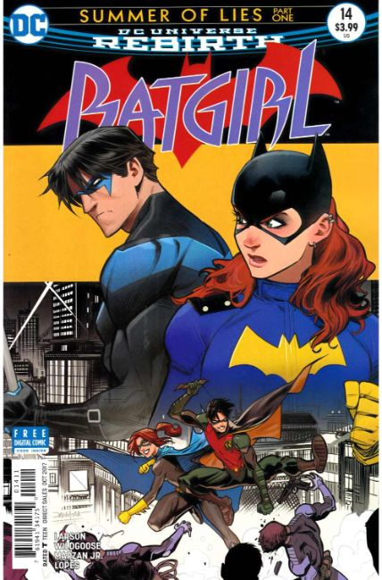 Batgirl #14 [DC Comic] LARGE