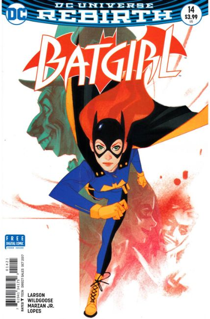 Batgirl #14 Middleton Variant Cover [DC Comic]