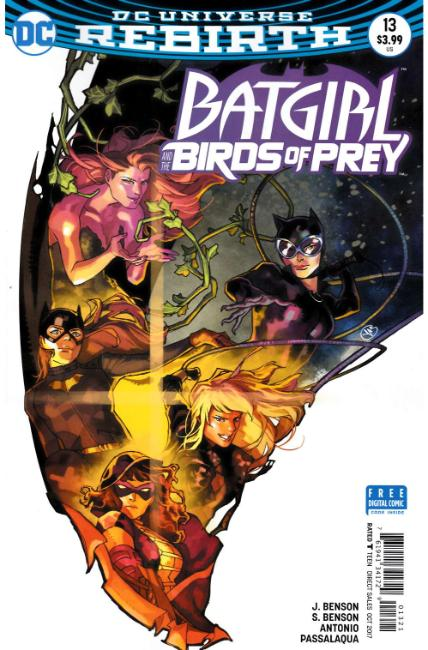 Batgirl and the Birds of Prey #13 Putri Variant Cover [DC Comic] LARGE