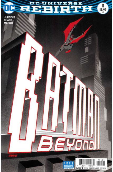 Batman Beyond #11 Ansin Variant Cover [DC Comic]