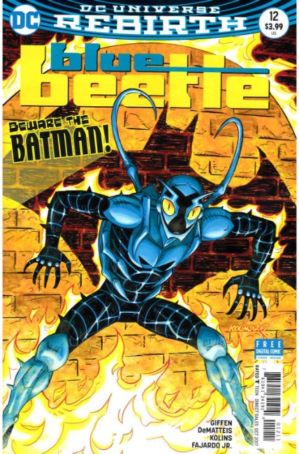 Blue Beetle #12 [DC Comic]