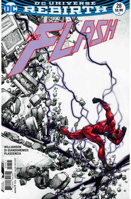 Flash #28 Porter Variant Cover [DC Comic] THUMBNAIL