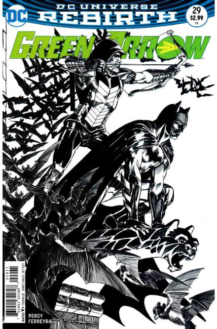 Green Arrow #29 Grell Variant Cover [DC Comic] THUMBNAIL