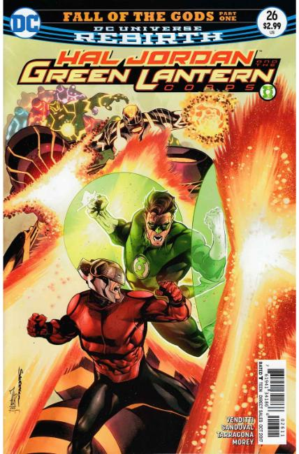 Hal Jordan and the Green Lantern Corps #26 [DC Comic] THUMBNAIL