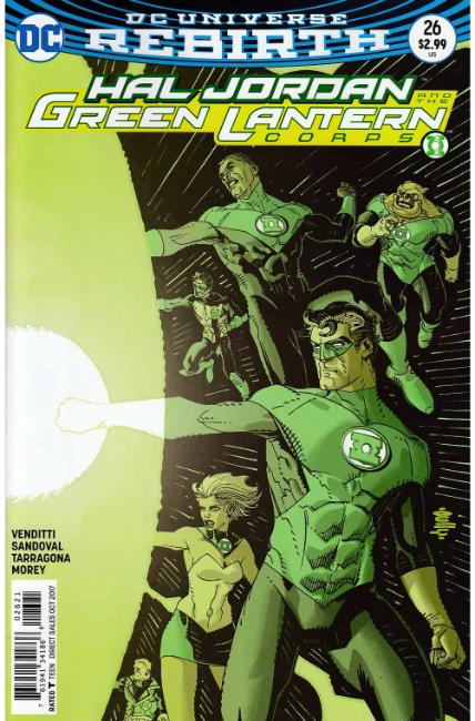 Hal Jordan and the Green Lantern Corps #26 Hamner Variant Cover [DC Comic] THUMBNAIL