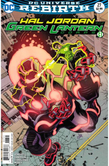 Hal Jordan and the Green Lantern Corps #27 Hamner Variant Cover [DC Comic] THUMBNAIL