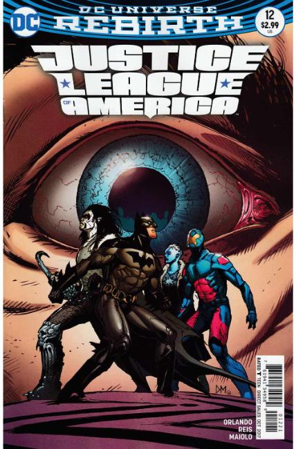 Justice League of America #12 Mahnke Variant Cover [DC Comic] THUMBNAIL