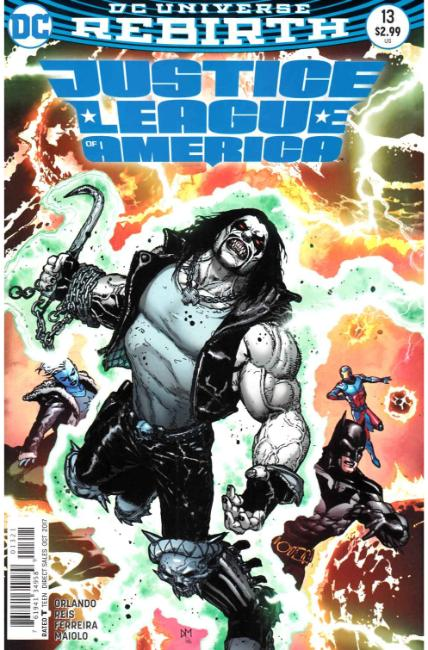 Justice League of America #13 Mahnke Variant Cover [DC Comic] LARGE