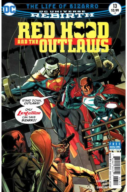 Red Hood and the Outlaws #13 [DC Comic] THUMBNAIL