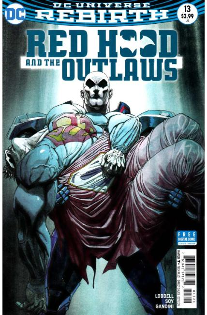 Red Hood and the Outlaws #13 March Variant Cover [DC Comic] THUMBNAIL