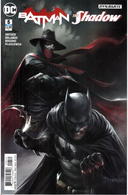 Batman The Shadow #5 Mattina Variant Cover [DC Comic]