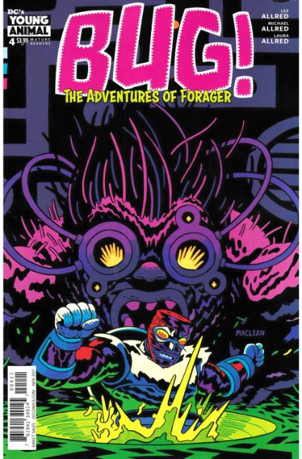 Bug The Adventures of Forager #4 MacLean Variant Cover [DC Comic] THUMBNAIL