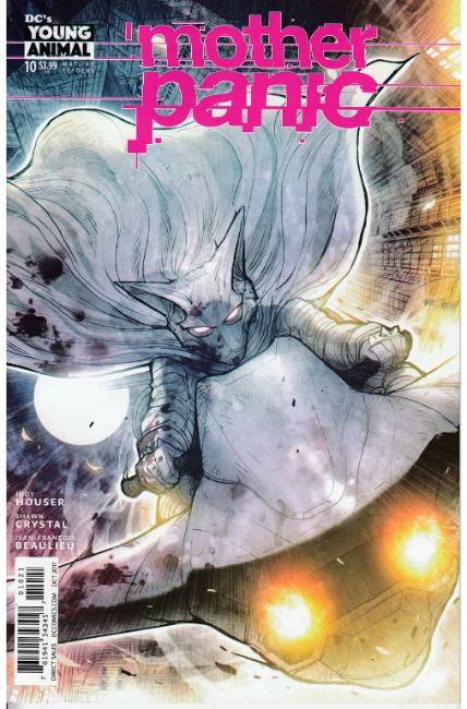 Mother Panic #10 Takeda Variant Cover [DC Comic] THUMBNAIL