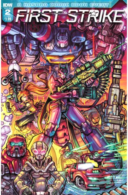 First Strike #2 Cover D [IDW Comic] THUMBNAIL