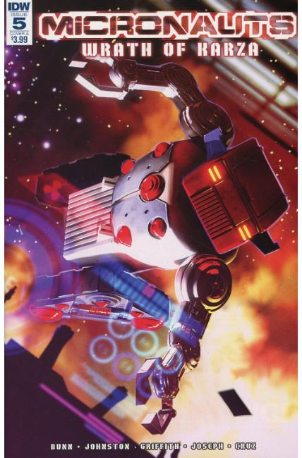 Micronauts Wrath of Karza #5 Cover A [IDW Comic]