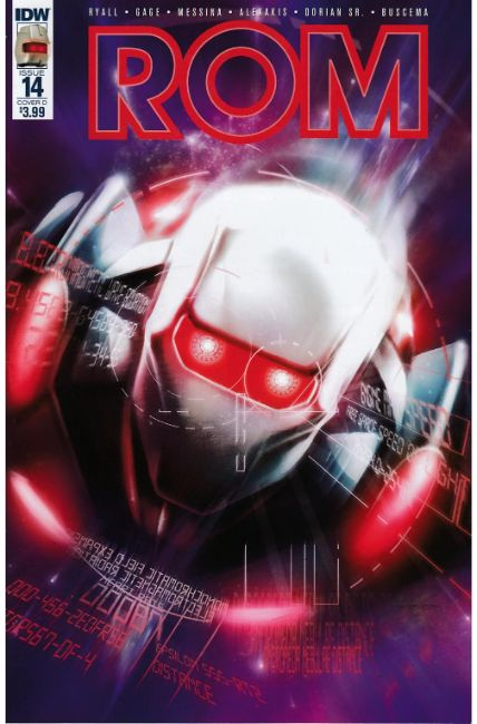 Rom #14 Cover D [IDW Comic] THUMBNAIL
