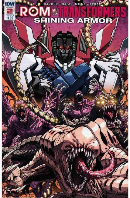 Rom vs Transformers Shining Armor #2 Cover A [IDW Comic]