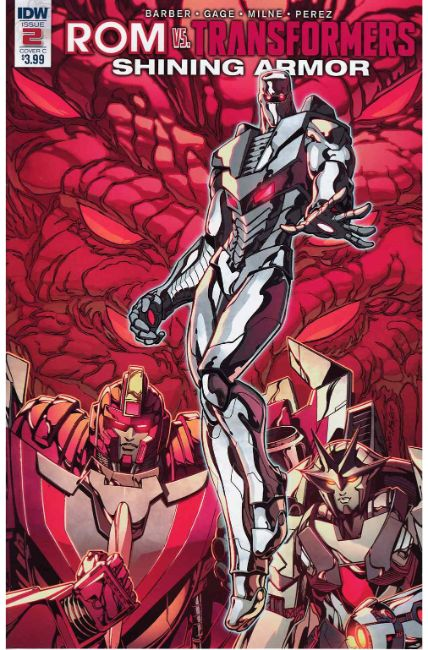 Rom vs Transformers Shining Armor #2 Cover C [IDW Comic] LARGE