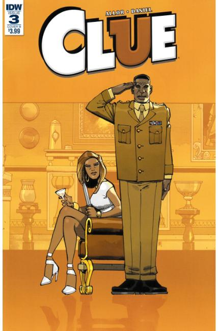 Clue #3 Cover B [IDW Comic] LARGE
