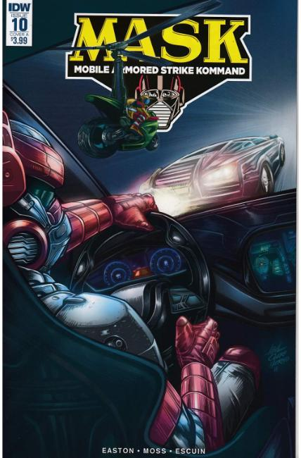 MASK Mobile Armored Strike Kommand #10 Cover A [IDW Comic]
