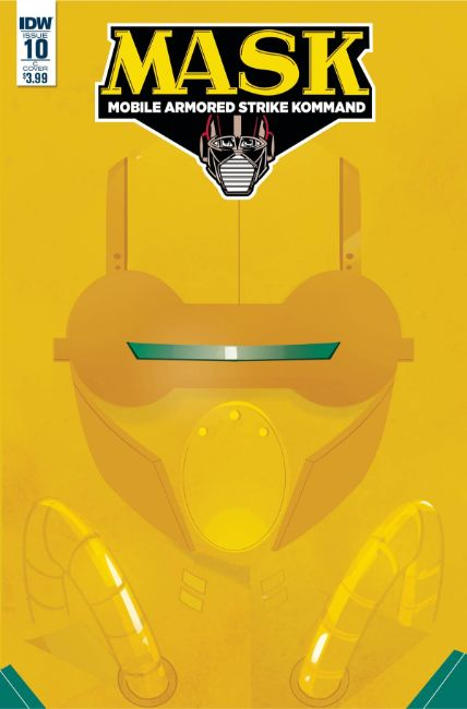 MASK Mobile Armored Strike Kommand #10 Cover C [IDW Comic]