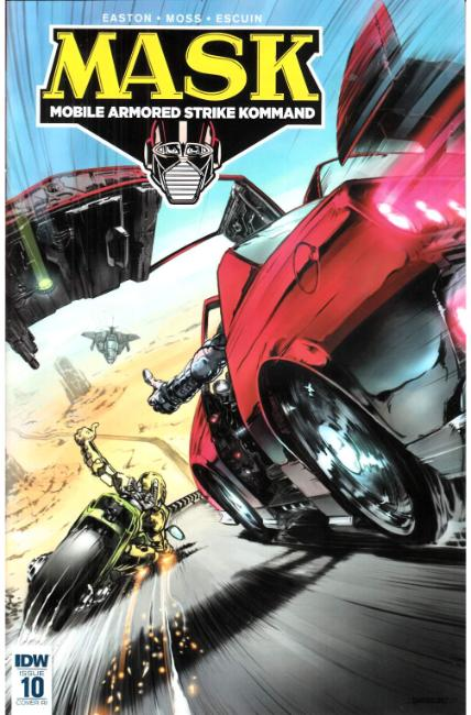 MASK Mobile Armored Strike Kommand #10 Cover RI [IDW Comic]