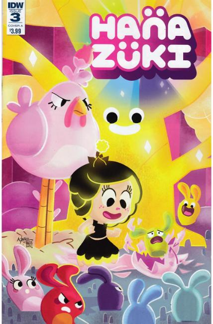 Hanazuki Full of Treasures #3 Cover A [IDW Comic]