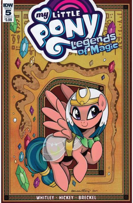 My Little Pony Legends of Magic #5 Cover A [IDW Comic]