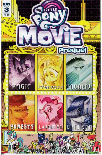 My Little Pony Movie Prequel #3 Cover A [IDW Comic]