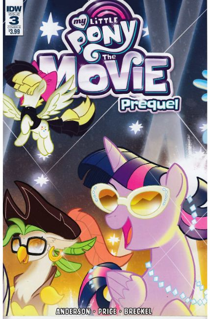 My Little Pony Movie Prequel #3 Cover B [IDW Comic]