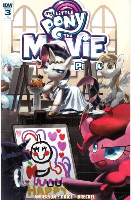 My Little Pony Movie Prequel #3 Cover RI [IDW Comic] THUMBNAIL