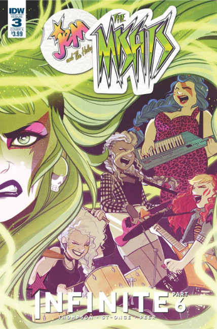 Jem & the Holograms Misfits Infinite #3 Cover A [IDW Comic]