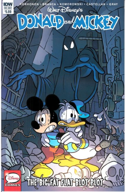 Donald & Mickey #1 Cover A [IDW Comic] THUMBNAIL
