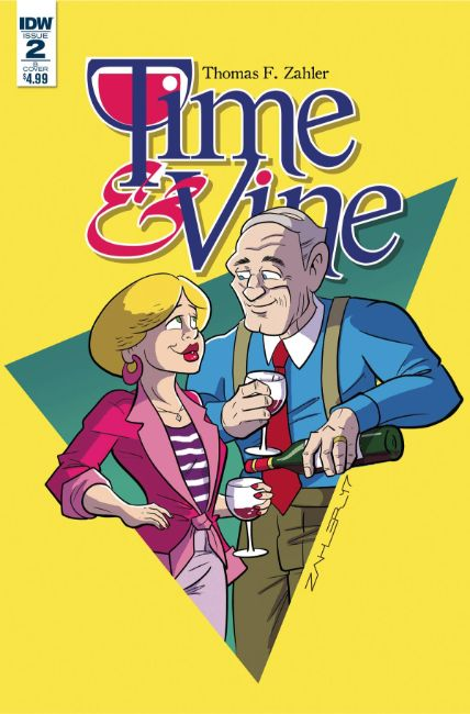 Time & Vine #2 Cover B [IDW Comic] LARGE