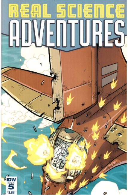 Real Science Adventures #5 Cover A [IDW Comic] THUMBNAIL