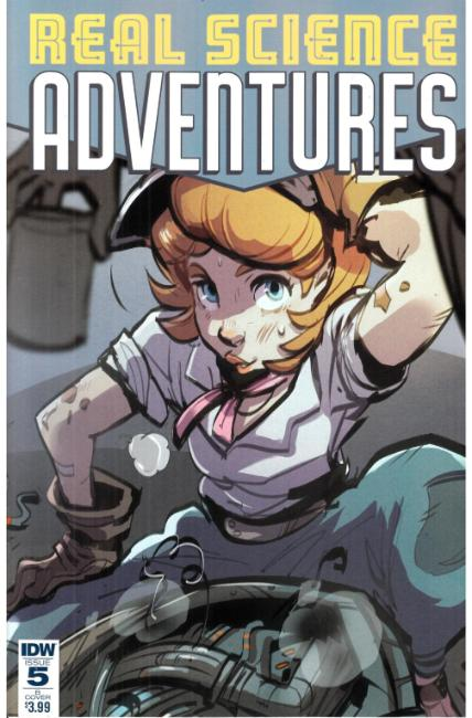 Real Science Adventures #5 Cover B [IDW Comic] THUMBNAIL
