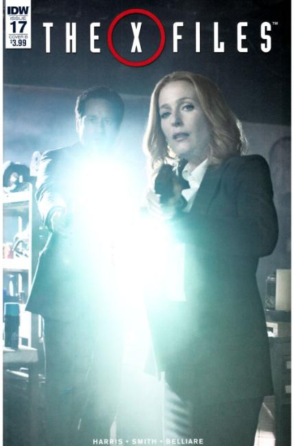 X-Files (2016) #17 Cover B [IDW Comic] LARGE