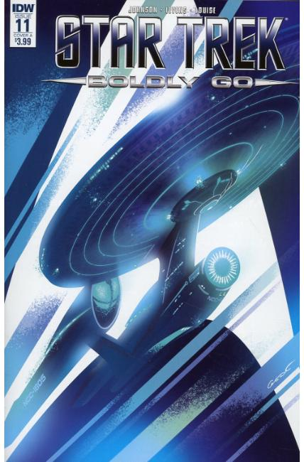 Star Trek Boldly Go #11 Cover A [IDW Comic] THUMBNAIL