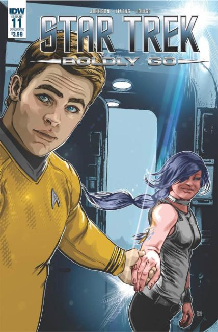 Star Trek Boldly Go #11 Cover B [IDW Comic]