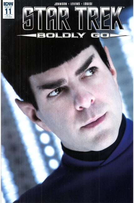 Star Trek Boldly Go #11 Cover RIA [IDW Comic]