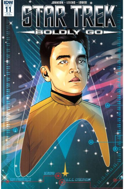 Star Trek Boldly Go #11 Cover RIB [IDW Comic]