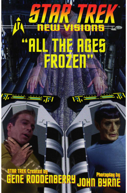 Star Trek New Visions All the Ages Frozen (One Shot) [IDW Comic] THUMBNAIL