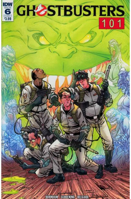Ghostbusters 101 #6 Cover C [IDW Comic] THUMBNAIL