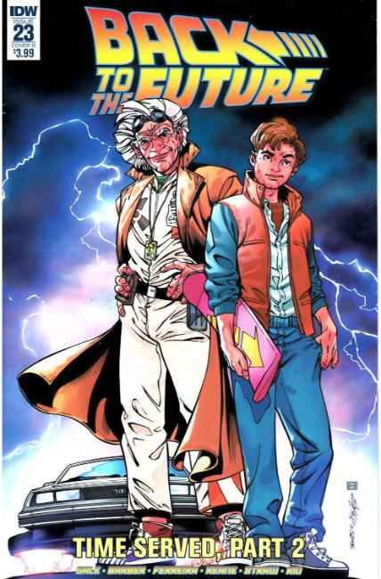 Back to the Future #23 Cover B [IDW Comic]