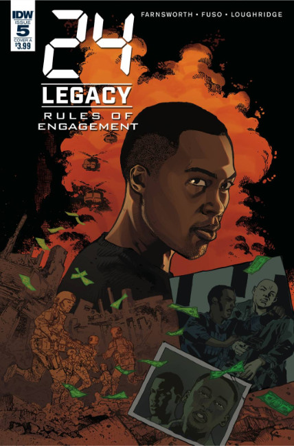 24 Legacy Rules of Engagement #5 Cover A [IDW Comic]